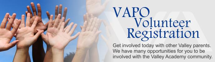 VAPO Volunteer Registration