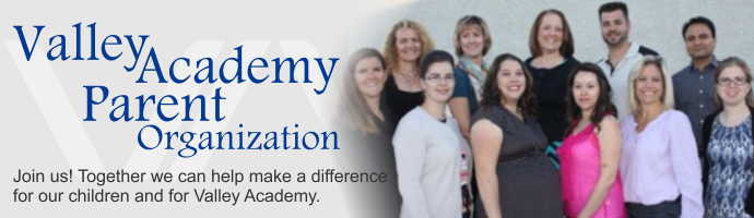 Valley Academy Parent Organization
