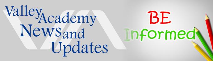 Valley Academy Newsletter