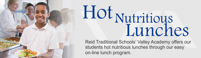 Valley Academy Hot Lunches